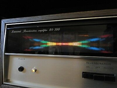 SANSUI Reverberation Amplifier Stereo RA-500 sehr guter Zustand