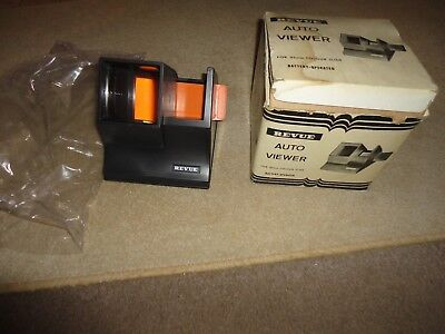 BRAND NEW BOXED REVUE AUTO  VIEWER 35 mm COLOUR SLIDE  BATTERY OPERATED
