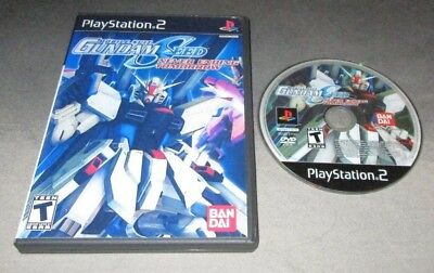 Mobile Suit Gundam Seed: Never Ending Tomorrow for PlayStation 2 PS2 system USA