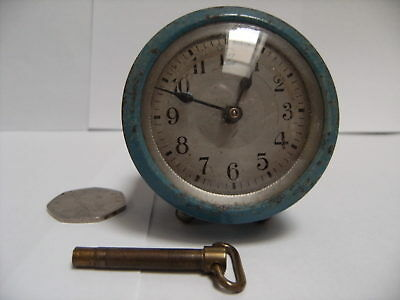 Rare Old Small Clock.  Working Order.