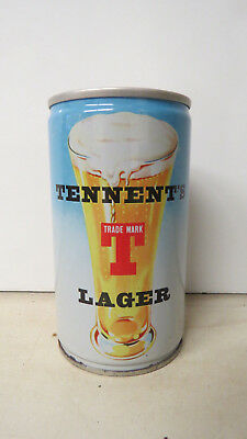 Tennent's Lager Tennent's Girls Linda Pull Tab Beer Can. Scotland.