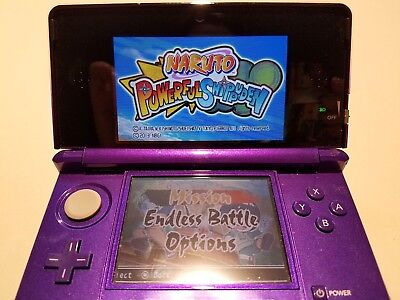Naruto Powerful Shippuden (Nintendo 3DS 2013) *game only* works great, authentic
