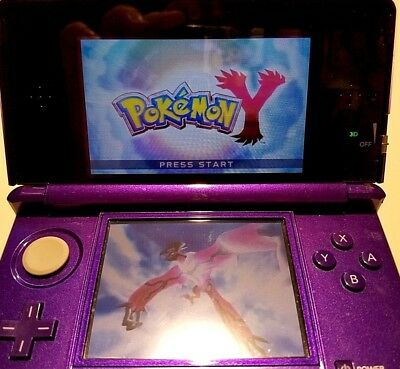Pokemon Y (Nintendo 3DS, 2013) **game only,**  works well, see screenshots