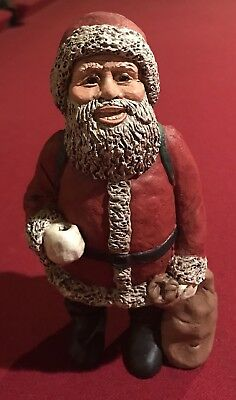 All God's Children Martha Holcombe ST NICHOLAS NICK WHITE Santa Claus CHRISTMAS