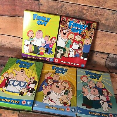 Family Guy Dvd Box Set Bundle