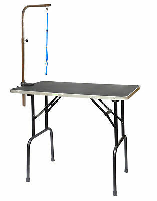 "Go Pet Club Dog Grooming Table with Arm 30"" & 36"" GT-101/102"