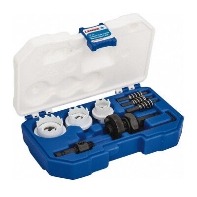 Lenox 300CHC 12 Pc. Electrician Carbide Hole Cutter Kit