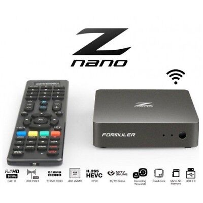 Formuler Z Nano IPTV Android Media Player Full-HD IPTV + Two free months of IPTV