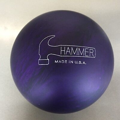 Hammer PURPLE PEARL   Urethane  bowling  ball 15 3/4 LB.  new ball in the box