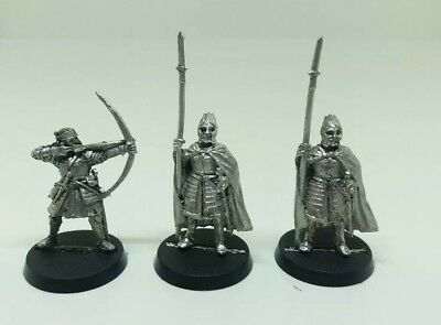 games workshop Lord of the rings metal citadel guard & osgilliath veteran