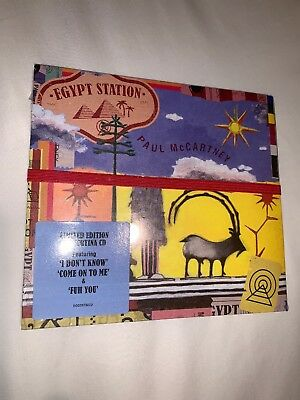 New Sealed Egypt Station [9/7] by Paul McCartney (CD, Sep-2018, Capitol)