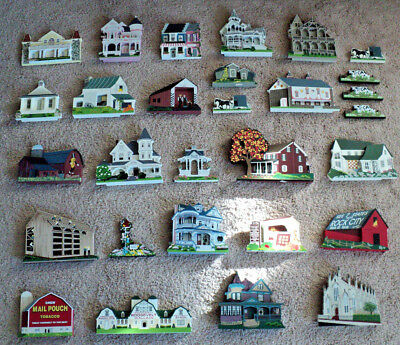 Lot of 29 Shelia Houses Amish Barns Southern Charleston Los Angeles