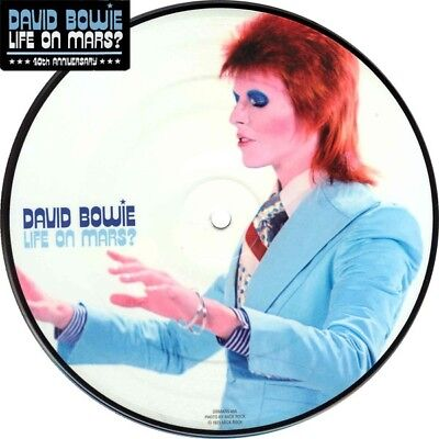 "DAVID BOWIE  - Life on Mars ? - 7"" PICTURE DISC unplayed, MINT, 40th"