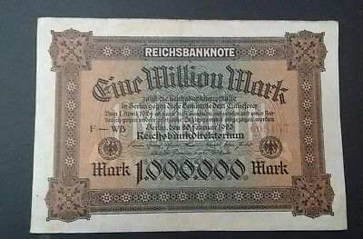 Germany 1 million Marks 1923