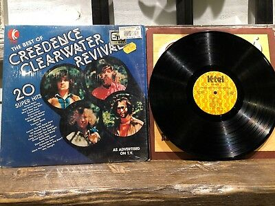 K-Tel The Best Of Creedence Clearwater Revival Record Vinyl LP CCR Shrink