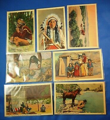 Lot of 48 Old Vintage Antique Postcards (Some Real Photo's & Linens)