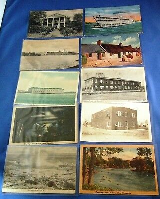Lot of 66 Old Vintage Antique Postcards (Some Real Photo's & Linens)