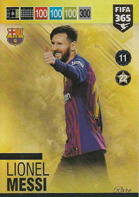Panini Adrenalyn Xl Fifa 365 2019    #6 Top Master Lionel Messi