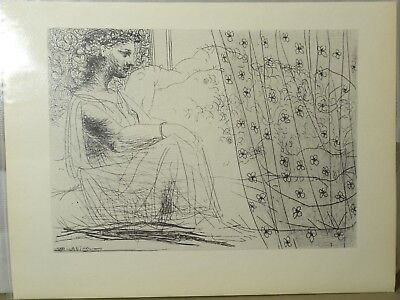 Pablo Picasso Lithograph Print from La Suite Vollard by Gerd Hatje 1956
