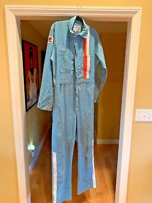 Pre-Owned United Airlines Coveralls Jumpsuit 40 Uniform Long Sleeve