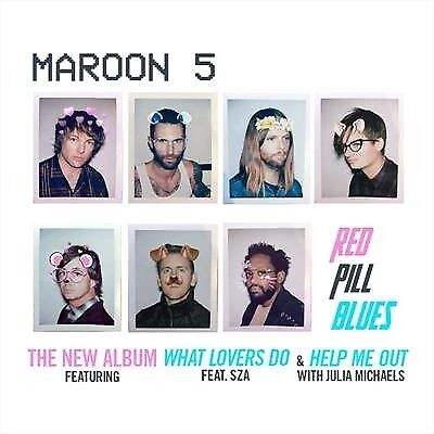 Maroon 5, Red Pill Blues, CD