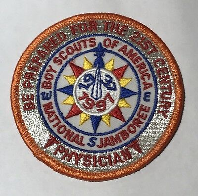 1997  National Jamboree Physician  Patch Mint MH4