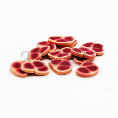 12 pcs. Miniature Polymer Clay Food Clay Meat Grocery Kitchen Dinnertable 1:12