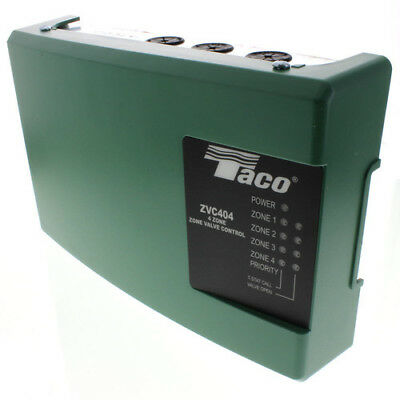 New Taco Zvc404-4 Four Zone Valve Control Module With Priority