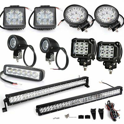Cree LED Flood Spot Beam Work Light Lamp Offroad Tractor Truck Boat 4WD