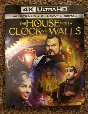 The House With A Clock In Its Walls (4K Ultra HD, Blu Ray, Digital) *Brand New*