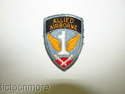 ORIG WWII US ARMY 1st ALLIED AIRBORNE ARMY PATCH