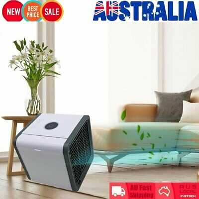 Portable Mini Air Conditioner Cool Cooling For Bedroom Arctic Air Cooler Fan E6