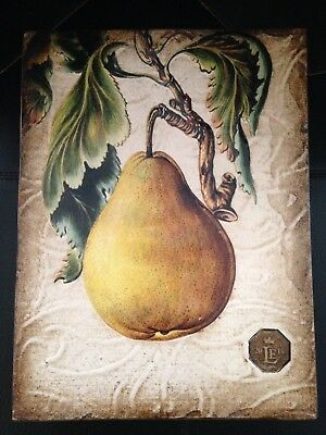 Sid Dickens Retailer Limited Edition 2018 -Pear, New, Fruit/garden/trees (Rle04)