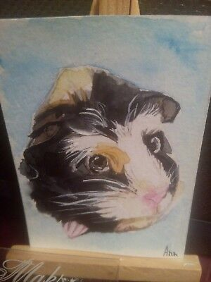 Original ACEO Mouse j 1 by Maksimova Anna