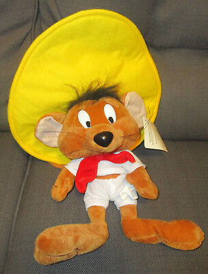 Warner Brothers Plush  Speedy Gonzales Doll Exclusive For Six Flags