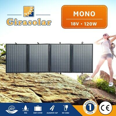 120W 160W 200W 12V Portable Folding Solar Panel Blanket Solar Mat Kit Camping