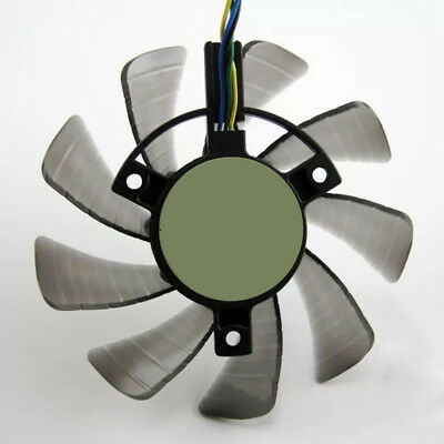 New Single Fan Replacement 4Pin for ASUS 85mm GTX 460 Gigabyte GTX AU