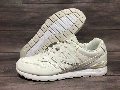 best authentic 3a0d6 dc140 NEW BALANCE 996 Classic Sneakers Men's Size 8.5 White RevLite MRL996MF