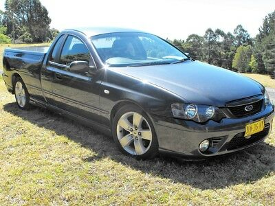 Ford XR6 Turbo Rare Manual 6 Speed Ute 2006