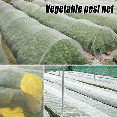 Plant Crops Protect Mesh Bird Insect Animal Garden Net Vegetables Pest PE White