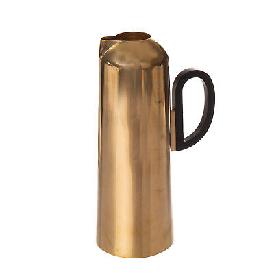 TOM DIXON Eclectic Form Collection Jug Vessel Made from Spun Brass Gold Colour