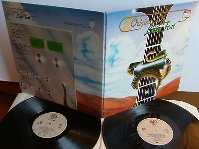 Little Feat - 2 Originals Of Little Feat K 66038 UK 2LP 1975 1st + Dixie Chicken