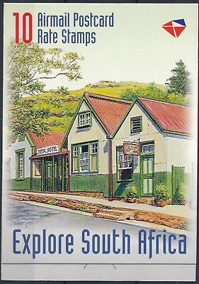 [H15338] South Africa 1999 HERITAGE Good complete booklet very fine MNH