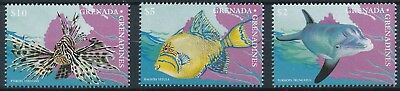 [H15878] Grenada Grenadines 1997 FISHS DOLPHIN Good set of stamps very fine MNH