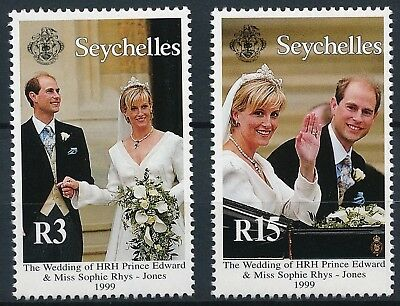 [H16041] Seychelles 1999 ROYALTY Good set of stamps very fine MNH