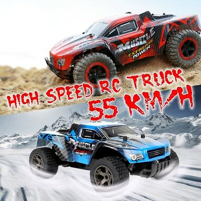 1:20 55km/h 2.4GHz 4 WD High Speed Remote Control RC Car Off-Road Racing 2812B