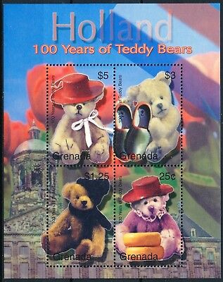 [H11266] Grenada 2002 : Teddy Bear - Good Very Fine MNH Sheet
