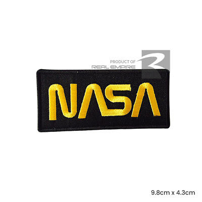NASA USA Iron On Sew On Embroidered Patch Badge For Clothes Bags etc