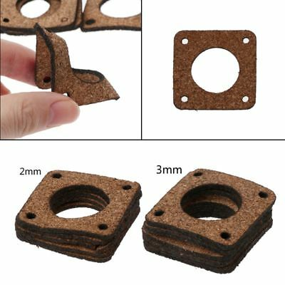 5Pcs Cork Gasket Shock Absorber Ibration Damper for Nema 17 42 Stepper Motor