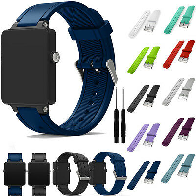 Womens Mens Spare Strap # For Garmin Vivoactive WATCH Sports Wrist Strap BAND